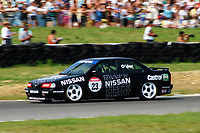 1992 British Touring Car Championship. #23 Keith Odor (GBR). Nissan Janspeed Racing. Nissan Primera GT.