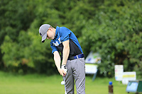 Calum McNulty (Greystones) during the Connacht U14 Boys Amateur Open, Ballinasloe Golf Club, Ballinasloe, Galway,  Ireland. 10/07/2019<br /> Picture: Golffile | Fran Caffrey<br /> <br /> <br /> All photo usage must carry mandatory copyright credit (© Golffile | Fran Caffrey)
