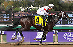 November 2, 2019: Mitole, ridden by Ricardo Santana Jr., wins the Breeders' Cup Sprint on Breeders' Cup World Championship Saturday at Santa Anita Park on November 2, 2019: in Arcadia, California. Bill Denver/Eclipse Sportswire/CSM
