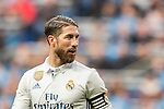 Sergio Ramos of Real Madrid celebrates during their La Liga 2016-17 match between Real Madrid and Malaga CF at the Estadio Santiago Bernabéu on 21 January 2017 in Madrid, Spain. Photo by Diego Gonzalez Souto / Power Sport Images