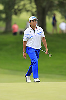 Hideki Matsuyama (JPN) walks to the 9th green during Sunday's Final Round of the WGC Bridgestone Invitational 2017 held at Firestone Country Club, Akron, USA. 6th August 2017.<br /> Picture: Eoin Clarke | Golffile<br /> <br /> <br /> All photos usage must carry mandatory copyright credit (&copy; Golffile | Eoin Clarke)