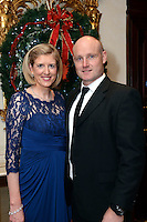 Pictured  at the IHF Ball in the Muckross Park Hotel at the weekend were Emer and Denis Corridan, The Cahernane Hotel, Killarney.<br /> Photo: Don MacMonagle<br /> <br /> Repro free photo