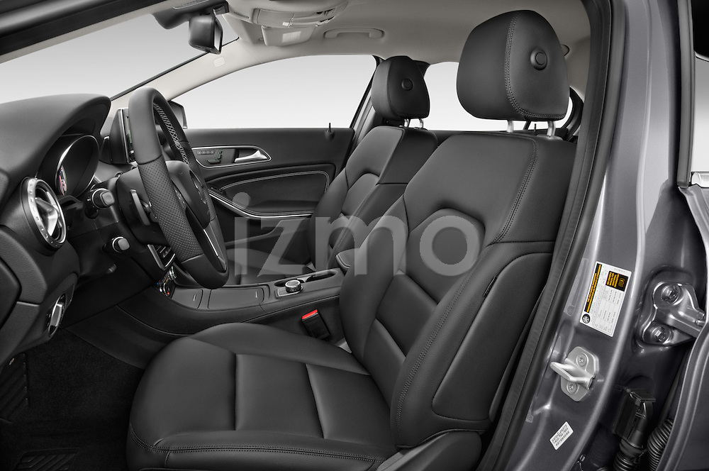 Front seat view of 2015 Mercedes Benz GLA-Class 250 5 Door SUV Stock Photo