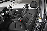 Front seat view of 2015 Mercedes Benz GLA-Class 250 5 Door SUV Stock Photo