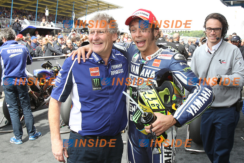 29-06-2013 Assen (NDL)<br /> Motogp world championship<br /> Jeremy Burges and Valentino Rossi<br /> Foto Semedia / Insidefoto
