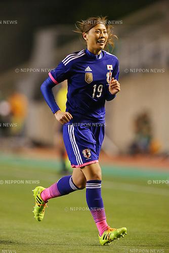 Rumi Utsugi (JPN), <br /> MAY 6, 2014 - Football /Soccer :  <br /> International friendly match<br /> between Japan 2-1 New Zealand <br /> at Kincho Stadium, Osaka, Japan. (Photo by Yohei Osada/AFLO SPORT)