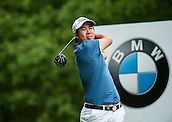24.05.2015. Wentworth, England. BMW PGA Golf Championship. Final Round.  Byeong Hun An [KOR] starts the day tied first with Francesco Molinari [ITA]. Tee shot 3rd hole during the final round of the 2015 BMW PGA Championship from The West Course Wentworth Golf Club