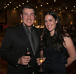 Logan Refnes and Lindsey Barrett during the Big Chefs, Big Gala event at the Grand Sierra Resort in Reno on April 8, 2017.