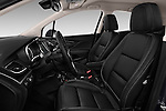 Front seat view of 2017 Opel Mokka-X Innovation 5 Door SUV Front Seat  car photos