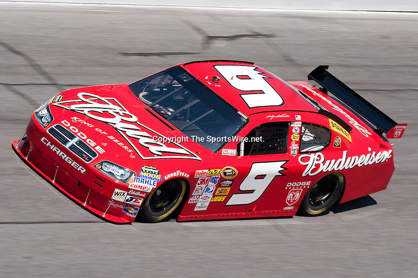 Feb 08, 2009; 1:15:55 PM; Daytona Beach, FL, USA; NASCAR Sprint Cup Series qualifying for the Daytona 500 at Daytona International Speedway.  Mandatory Credit: (thesportswire.net)