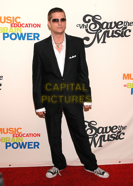 ROB THOMAS.Arrivals at the VH1 Save The Music concert at the Beacon Theater in New York City. The event will benefit the Save The Music Foundation, a non-profit organization dedicated to restoring music programs in American public schools, New York, USA,.11 April 2005.full length sunglasses shades trainers .Ref: ADM.www.capitalpictures.com.sales@capitalpictures.com.©Patti Ouderkirk /AdMedia/Capital Pictures