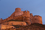 Castle of Biar arabic period castle, XIIth century, Alicante province, Spain,Europe