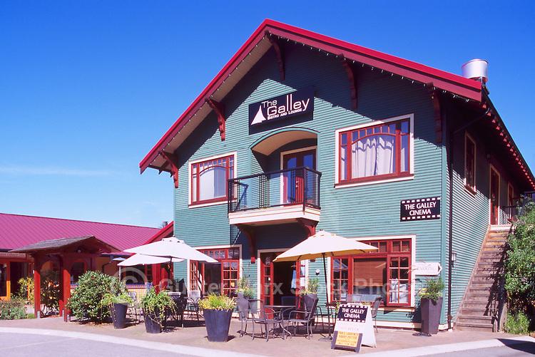 Bowen Island, BC, British Columbia, Canada - Shops and Restaurant at Artisan Square