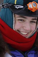 2013 Junior Iditarod start on Knik Lake.  Knik Alaska..Photo by Jeff Schultz/IditarodPhotos.com   Reproduction prohibited without written permission