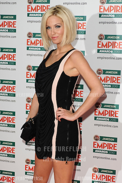 Sarah Harding arriving for the Empire Film Awards 2010 at the Grosvenor House Hotel, London. 28/03/2010  Picture by: Steve Vas / Featureflash