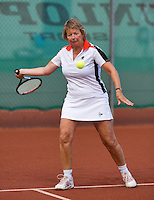 August 24, 2014, Netherlands, Amstelveen, De Kegel, National Veterans Championships, Carola Muller Van Moppes-Van Fra (NED)<br /> Photo: Tennisimages/Henk Koster