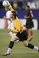 The MetroStars' goalkeeper Jonny Walker pitched a shutout. The Kansas City Wizards were defeated by  the NY/NJ MetroStars to a 1 to 0 at Giant's Stadium, East Rutherford, NJ, on May 30, 2004.