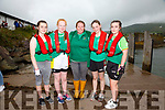 The Cromane U14 girls crew who finishe in first position at the Cahersiveen Regatta on Sunday were l-r; Máirín Duffy, Caithlin McMahon, Liane Teahan(cox), Caragh Hayes & Aoilbhe Mangan.