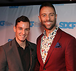 Danny Gorman and husband  Ken Urso during The Third Annual SDCF Awards at The The Laurie Beechman Theater on November 12, 2019 in New York City.