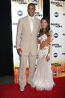 LOS ANGELES - SEP 20:  RIck Fox & Cheryl Burke at the Season 11 Premiere of Dancing with the Stars at CBS Television CIty  on September 20, 2010 in Los Angeles, CA