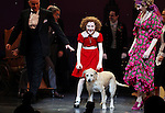 Anthony Warlow, Lilla Crawford, Sunny & Katie Finneran during the Broadway Opening Night Performance Curtain Call for 'Annie' at the Palace Theatre in New York City on 11/08/2012
