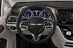 Car pictures of steering wheel view of a 2017 Chrysler Pacifica LX 5 Door Minivan Steering Wheel