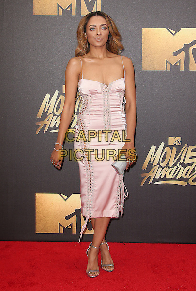 09 April 2016 - Burbank, California - Kat Graham. 2016 MTV Movie Awards held at Warner Bros. Studios. <br /> CAP/ADM/SAM<br /> &copy;SAM/ADM/Capital Pictures