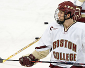 Mike Brennan  The Boston College Eagles defeated the Providence College Friars 3-2 in regulation on October 29, 2005 at Kelley Rink in Conte Forum in Chestnut Hill, MA.  It was BC's first Hockey East win of the season and Providence's first HE loss.