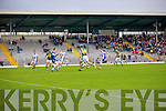 Anthony Maher scores a goal against Waterford last Saturday in Fitzgerald Stadium for the Munster GAA football championship