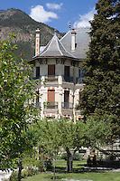 """Europe/France/Provence-Alpes-Cote d'Azur/04/ Alpes de Haute-Provence/Jausiers: Hotel-Restaurant """"Villa Morélia"""""""