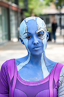 Nebula Cosplay, Renton City Comicon 2017, Washington, USA.