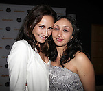 Laura Benanti & Natascia Diaz.attending the Signature Theatre Stephen Sondheim Award Gala reception honoring Patti Lupone at the Embassy of Italy in Washington D.C. on 4/16/2012.