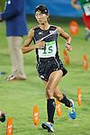 Natsumi Tomonaga (JPN), <br /> AUGUST 19, 2016 - Modern Pentathlon : <br /> Women's Combined Event <br /> at Deodoro Stadium <br /> during the Rio 2016 Olympic Games in Rio de Janeiro, Brazil. <br /> (Photo by YUTAKA/AFLO SPORT)