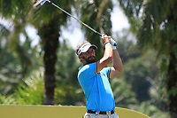 Joost Luiten (NED) in action on the 7th during Round 3 of the Maybank Championship at the Saujana Golf and Country Club in Kuala Lumpur on Saturday 3rd February 2018.<br /> Picture:  Thos Caffrey / www.golffile.ie<br /> <br /> All photo usage must carry mandatory copyright credit (© Golffile | Thos Caffrey)