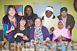 Enjoying the KASI immigrant support group jewellery making workshop in the KASI centre on Thursday was l-r: Joni Kelly, Ruth Conway, Charolette Darko, Mairead Hanrahan, Seta Feza Barcani, Hosnear Parvin and Farhad Faraj