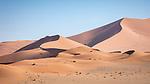 Sand Dunes Near Deadvlei, Sossuvlei.