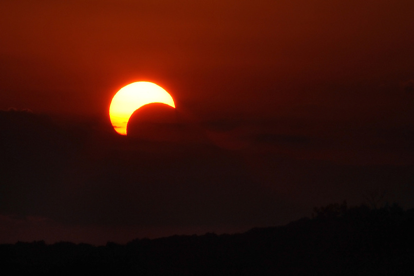 On Sunday May 20th 2012 a rare annular solar eclipse was visible in parts of Asia, the Pacific and the western U.S.<br />