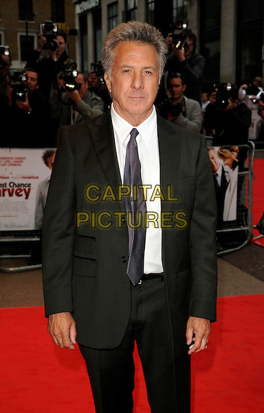 "DUSTIN HOFFMAN.""Last Chance Harvey"" UK film premiere, Odeon West End cinema, Leicester Square, London, England..June 3rd, 2009.half 3/4 length black suit .CAP/CAN.©Can Nguyen/Capital Pictures."