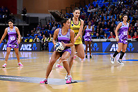 Stars&rsquo; Holly Fowler in action during the ANZ Premiership - Pulse v Northern Stars at Te Rauparaha Arena, Porirua, New Zealand on Monday 25 June 2018.<br /> Photo by Masanori Udagawa. <br /> www.photowellington.photoshelter.com