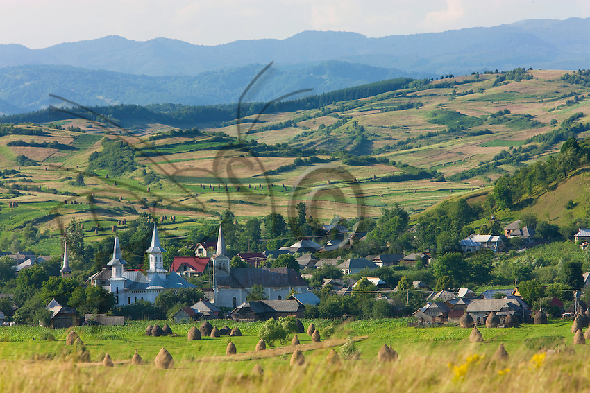 The rural landscape of Maramures attests to the mountain civilization of northern Romania, with its wooden churches, its deep forest. Here, time seems to have stopped and farming is still like that of Western Europe before mechanization.