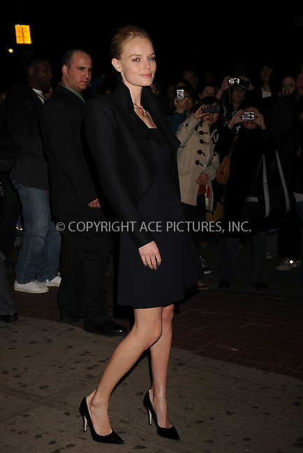 WWW.ACEPIXS.COM . . . . .....March 26, 2008. New York City.....Actress Kate Bosworth attends the '21' screening hosted by Cinema Society and Calvin Klein Jeans at the IFC Center in New York City...  ....Please byline: Kristin Callahan - ACEPIXS.COM..... *** ***..Ace Pictures, Inc:  ..Philip Vaughan (646) 769 0430..e-mail: info@acepixs.com..web: http://www.acepixs.com