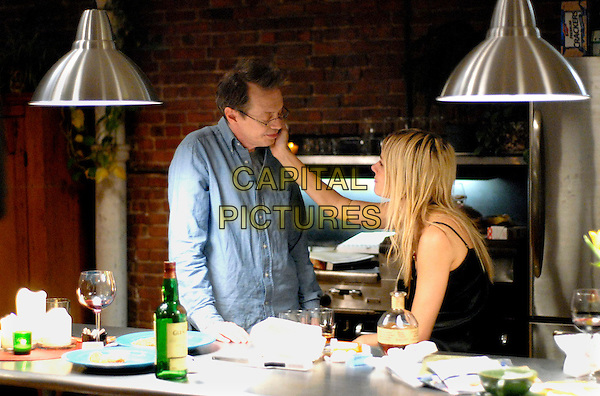 STEVE BUSCEMI & SIENNA MILLER .in Interview  .**Editorial Use Only**.CAP/AWFF.Supplied by Capital Pictures
