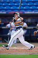 Canisius College Golden Griffins third baseman Liam Wilson (33) at bat during the first game of a doubleheader against the Michigan Wolverines on February 20, 2016 at Tradition Field in St. Lucie, Florida.  Michigan defeated Canisius 6-2.  (Mike Janes/Four Seam Images)
