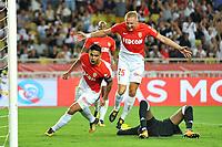 25 KAMIL GLIK (mon) - 09 RADAMEL FALCAO (mon) - JOIE<br /> Monaco 27-08-2017 <br /> Monaco - Olympique Marsiglia <br /> Calcio Ligue 1 2017/2018 <br /> Foto Lecouer/Panoramic/insidefoto