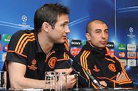 London - Chelsea FC v Barcelona UEFA Champions League Press Conference,  Stamford Bridge, London - April 17th 2012..Photo by Bob Kent.