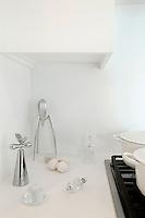 modern white countertop