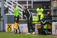 7th March 2020; Somerset Park, Ayr, South Ayrshire, Scotland; Scottish Championship Football, Ayr United versus Dundee FC; Ayr United manager Mark Kerr