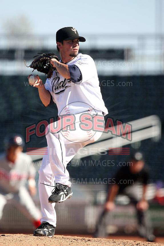 Brandon Gomes - Peoria Saguaros, 2009 Arizona Fall League.Photo by:  Bill Mitchell/Four Seam Images..