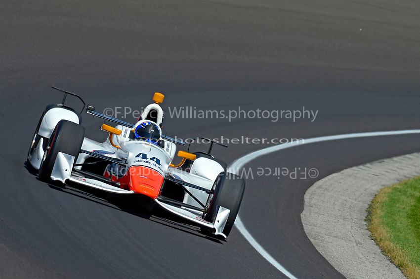 Verizon IndyCar Series<br /> Indianapolis 500 Carb Day<br /> Indianapolis Motor Speedway, Indianapolis, IN USA<br /> Friday 26 May 2017<br /> Buddy Lazier, Lazier Racing Partners Chevrolet<br /> World Copyright: F. Peirce Williams