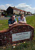 The Onthank area of Kilmarnock which is to feature in a BBC reality programme - James (left) and Hugh Crainie - Picture by Donald MacLeod 18.05.10 - mobile 07702 319 738
